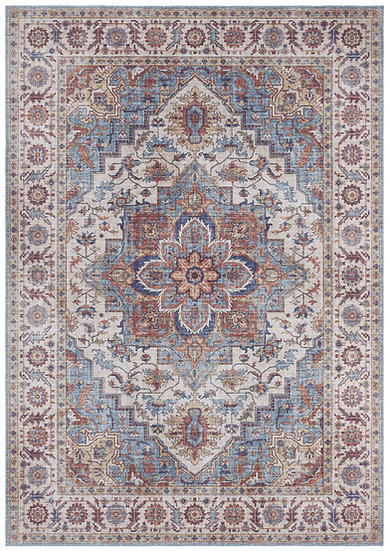 Nouristan Vintage Carpet Anthea Cyan Blue 104002