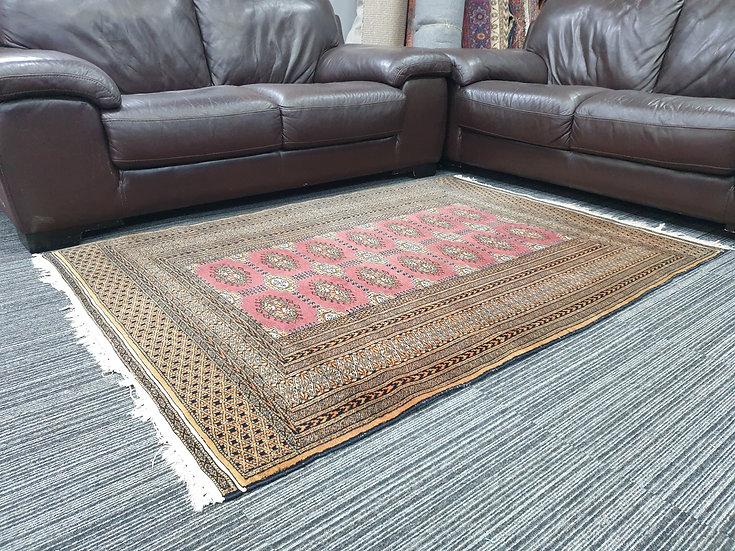 Vintage Wool Pre-Owned Rugs Pakistani Bukhara 125 x 180 cm