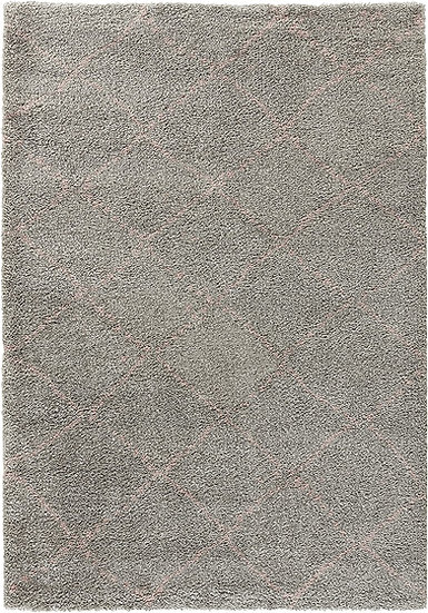 Mint Rugs Allure Design Velor Hash 102751 Gray Pink