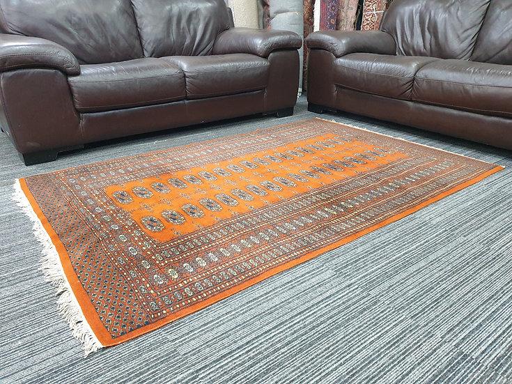 Vintage Wool Pre-Owned Rugs Pakistani Bukhara 125 x 190 cm