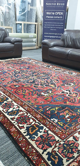 Vintage Wool Pre-Owned Rugs Persian Bakhtiar 210 x 305 cm
