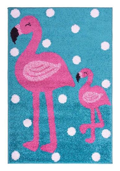 Flair Rugs Flair Kids Play Days Flamingo Pink/Blue