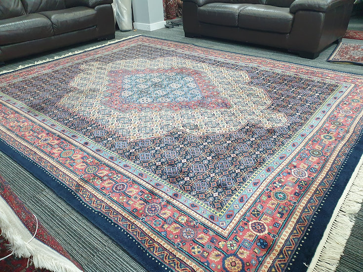Vintage Wool Pre-Owned Rugs Indian Bidjar 245 x 315 cm