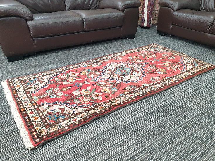 Vintage Wool Pre-Owned Rugs Persian Hamadan 85 x 190 cm