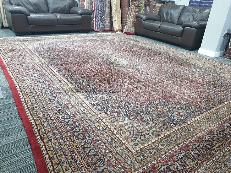 Vintage Wool Pre-Owned Rugs Indian Tabriz 300 x 410 cm