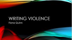 writing violence