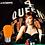 Thumbnail: S14 Medium Base LED Decorative Bulb with Internal Orange Coating, 1W
