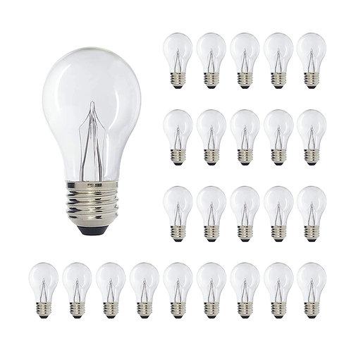 Incandescent Like A17 Medium Base Clear LED Decorative Bulb ShineLine Light Bar