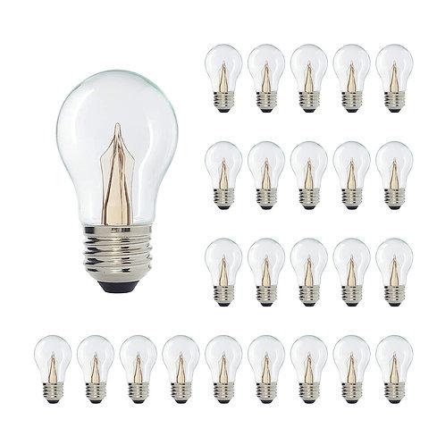 Incandescent Like A15 Medium Base Clear LED Decorative Bulb ShineLine Light Bar