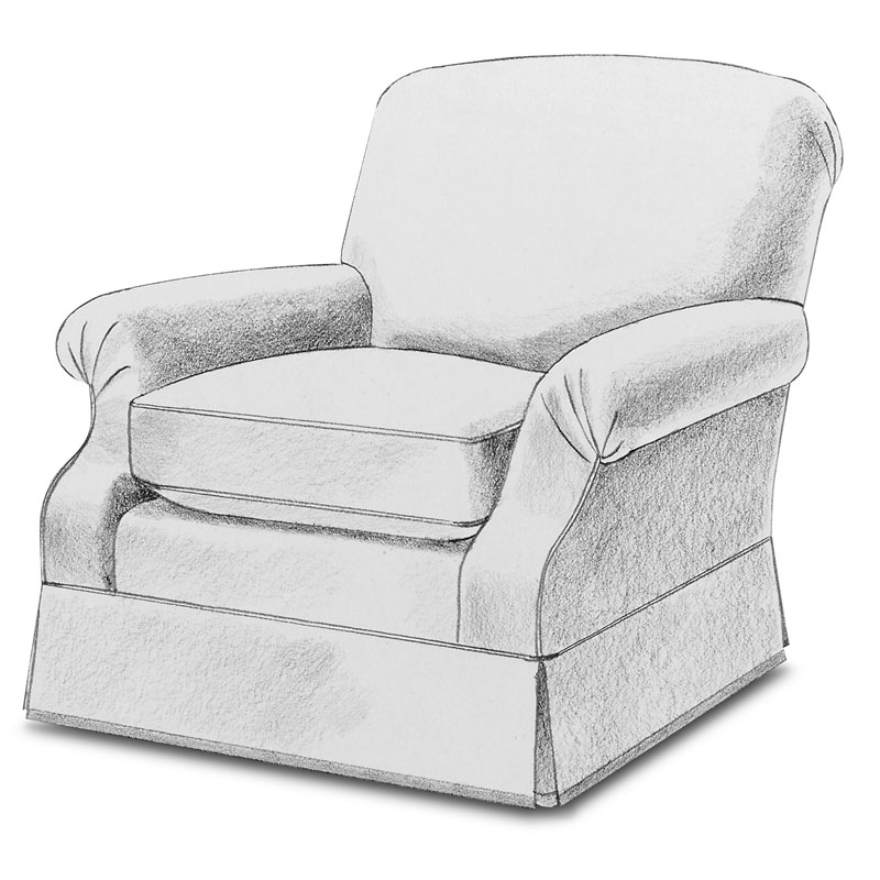 Item# 2326 Fer chair