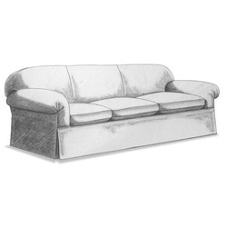 Fer-Sofa Item#332005