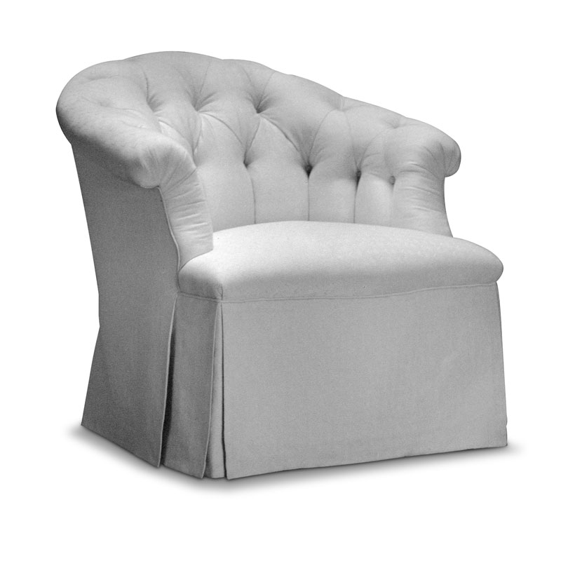 Item# 2310 Lounge Tufted Armchair