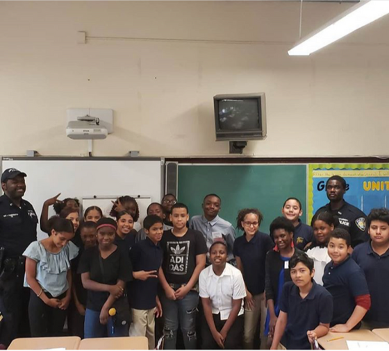 Career day at PS 10 in Paterson!