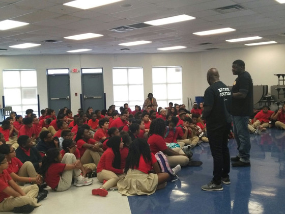 Anti-Bullying event at the Beloved Charter School