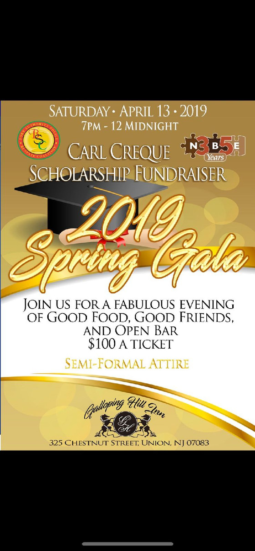 2019 Spring Gala - Carl Creque scholarship fundraiser!