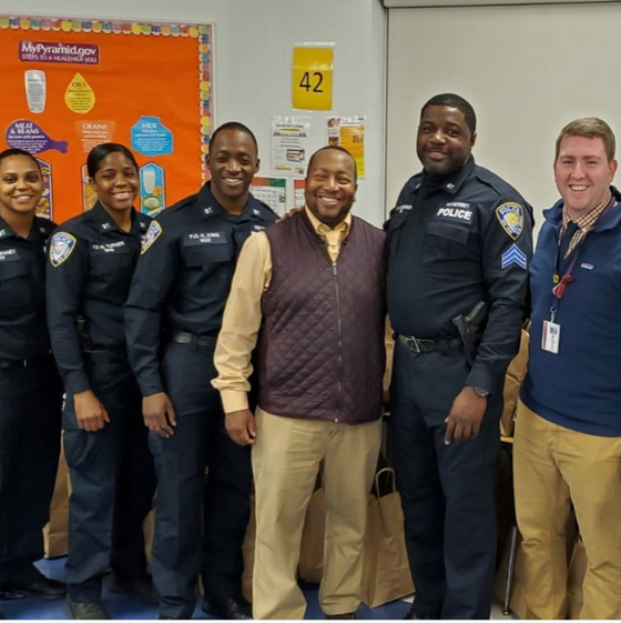 4th annual Turkey giveaway at Beloved Community Charter school!