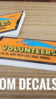 Volunteer Decals