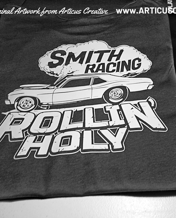 Rollin' Holy (Smith-Racing) shirt
