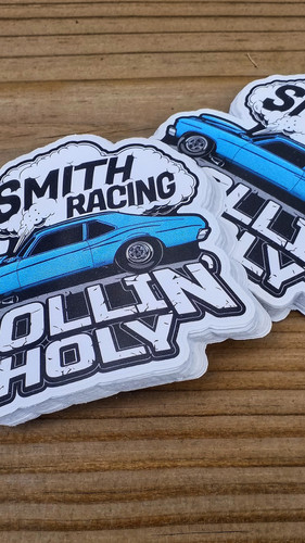 Smith Racing (Rollin' Holy) Decals