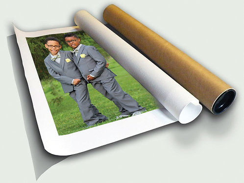 Rolled - CANVAS PHOTO PRINT (Your Photo)