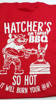 Hatcher's On Target BBQ shirt