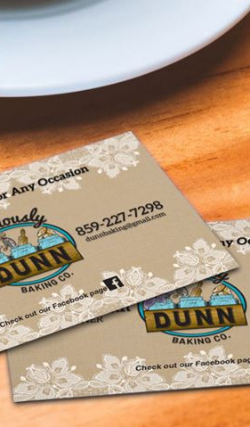 Deliciously Dunn business cards