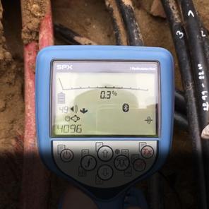 TIP: Identifikace VN kabelu ve svazku směrem proudu s RD8100