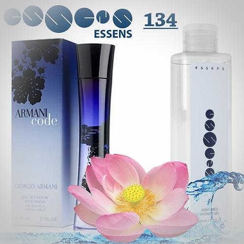 """Гель для душа парфюмированный """"Giorgio Armani - Armani Code Women """" - №134"""