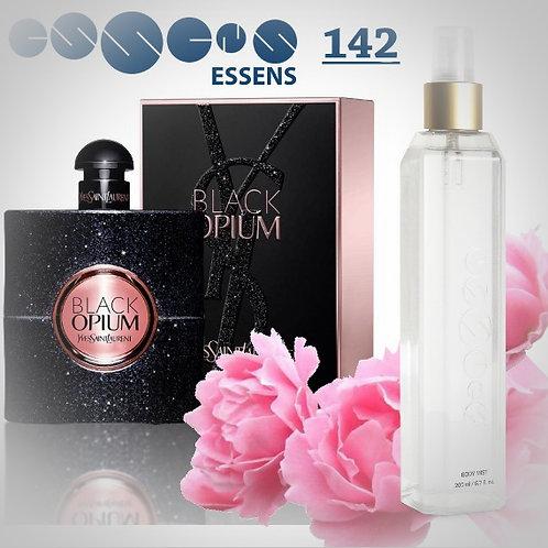 """Спрей для тела парфюмированный """"Yves Saint Laurent - Black Opium"""" - №142"""