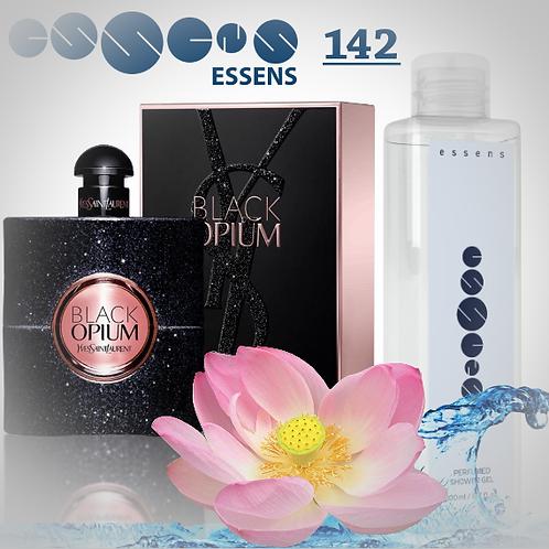 "Гель для душа парфюмированный ""Yves Saint Laurent - Black Opium""- №142"