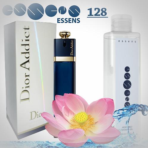 """Гель для душа парфюмированный """"Christian Dior - Dior Addict"""" - №128"""