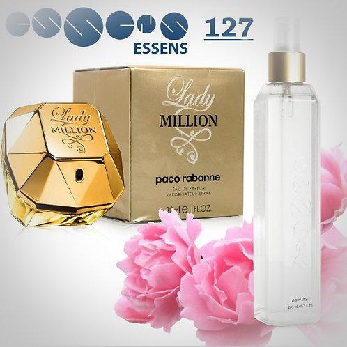"Спрей для тела парфюмированный ""Paco Rabanne - Lady Millionl"" - №127"