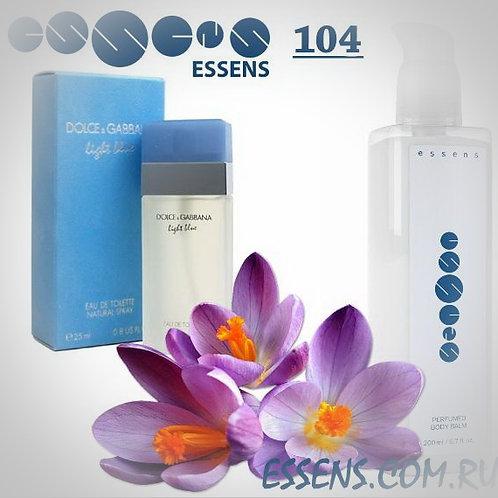 """Бальзам для тела парфюмированный """"Dolce & Gabbana - Light Blue"""" - №104"""