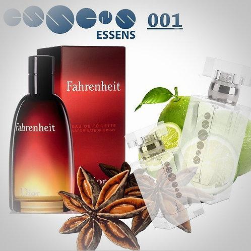 """Christian Dior - """"Fahrenheit"""" № 001 - Essens (эквивалент)"""