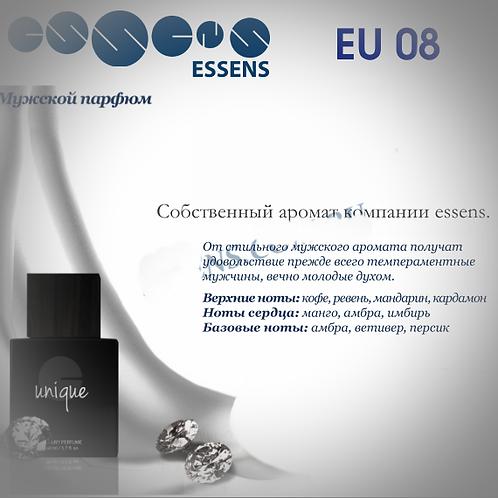 ESSENS Духи мужские Unique eu08 - Уникальный аромат компании