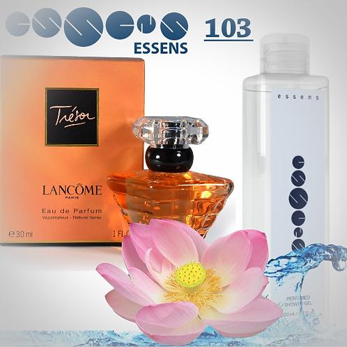 """Гель для душа парфюмированный """"Lancome Tresor"""" - №103"""