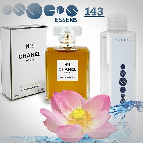 """Гель для душа парфюмированный """"Chanel - №5"""" - №143"""