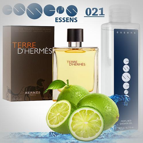 """Гель для душа парфюмированный """"Hermes - Terre d'Hermes"""" - №021"""