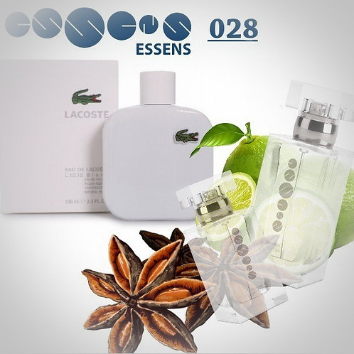 "Lacoste - ""L.12.12. White"" №028 - Essens (эквивалент)"
