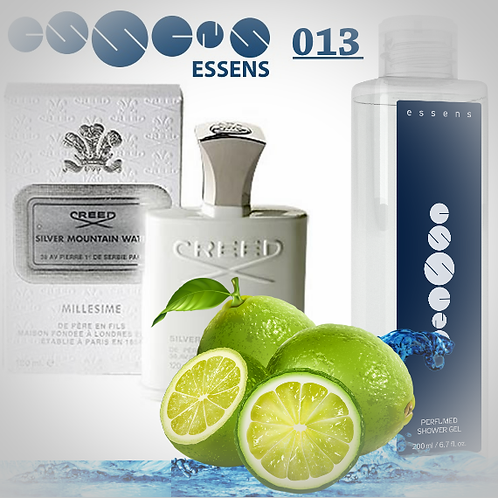 "Гель для душа парфюмированный ""Creed - Silver Mountain Water"" - №013"
