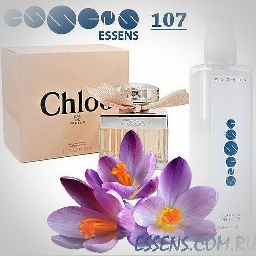 """Бальзам для тела парфюмированный """"Chloe - Eau de Parfum"""" - №107"""