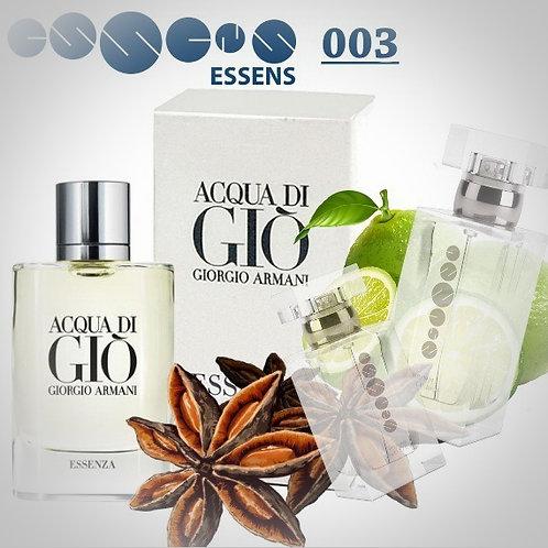 """Giorgio Armani - """" Acqua di Gio """" № 003 - Essens (эквивалент)"""