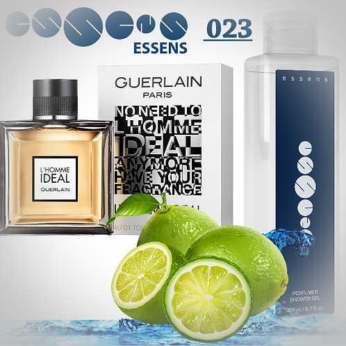 "Гель для душа парфюмированный ""Guerlain - L'HOMME IDÉAL"" - №023"