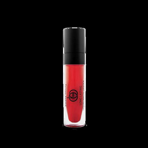 Матовая жидкая помада для губ 08- DEEP RED
