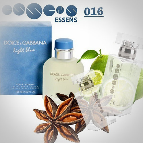 "Dolce&Gabbana - ""Light Blue​"" № 016 - Essens (эквивалент)"