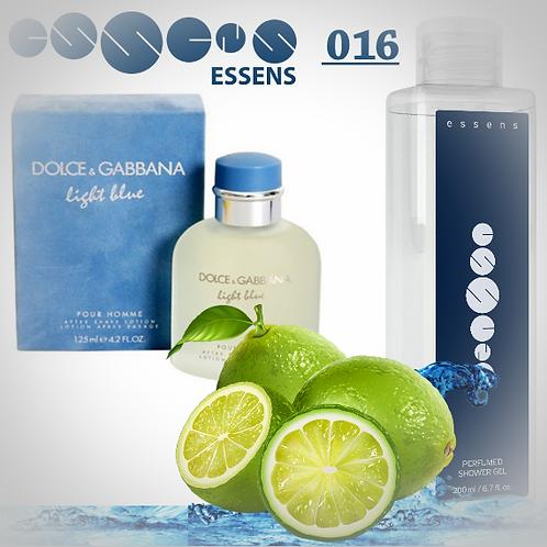 """Гель для душа парфюмированный """"Dolce&Gabbana - Light Blue"""" - №016"""