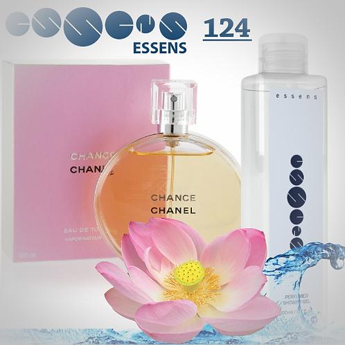 "Гель для душа парфюмированный ""Chanel - Chance"" - №124"