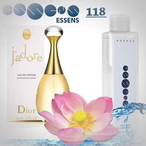 """Гель для душа парфюмированный """"Christian Dior - J`Adore"""" - №118"""
