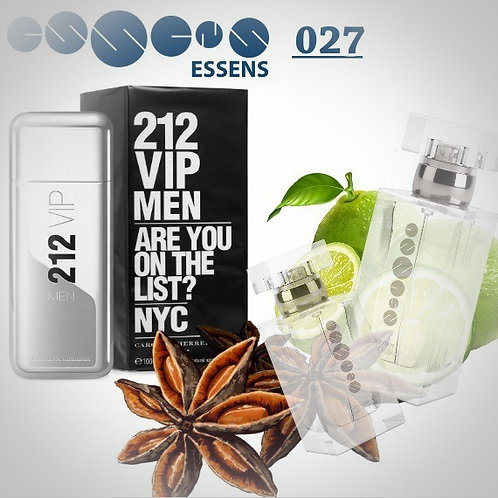 "Carolina Herrera - ""212 VIP Men"" №027 - Essens (эквивалент)"