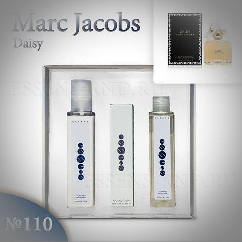 """Подарочный набор Essens духи+гель+бальзам """"Marc Jacobs-Daisy"""" №110"""